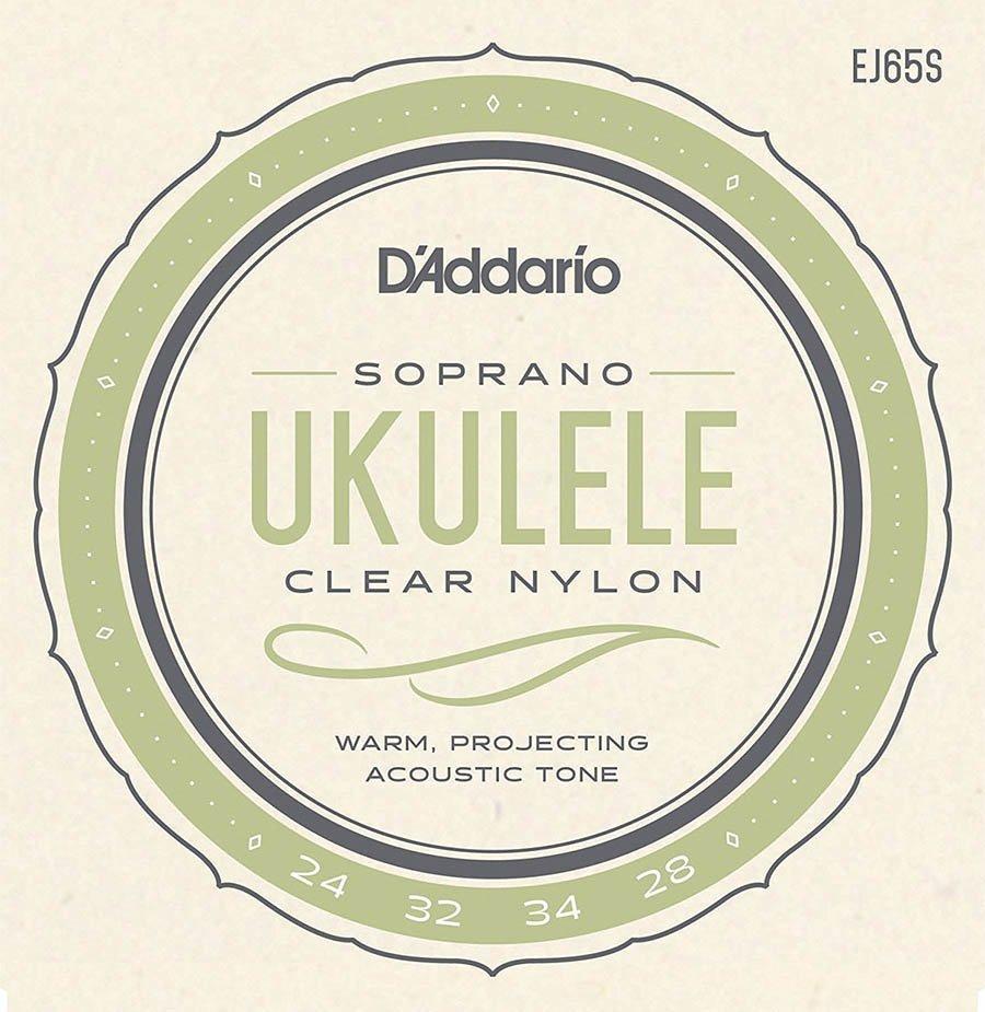 Cuerdas Ukulele Soprano EJ65 S