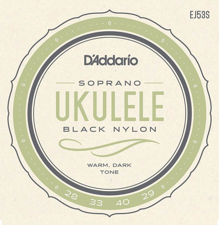 Cuerdas Ukulele Soprano D'Addario EJ53 S
