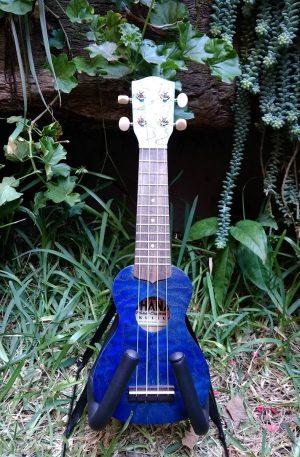 Ukulele sopranissimo azul