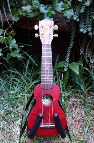 ukulele sopranissimo rojo