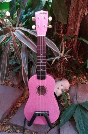 Ukulele Soprano Diamond Head Bubblegum Pink