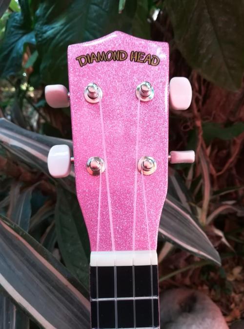 Ukulele Soprano Diamond Head Bubblegum Pink
