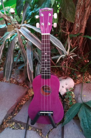 Ukulele Soprano Diamond Head Royal Purple