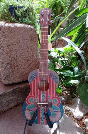 Ukulele Concierto Bamboo Vintage