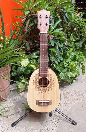 Ukelele Soprano Bamboo Honolulu