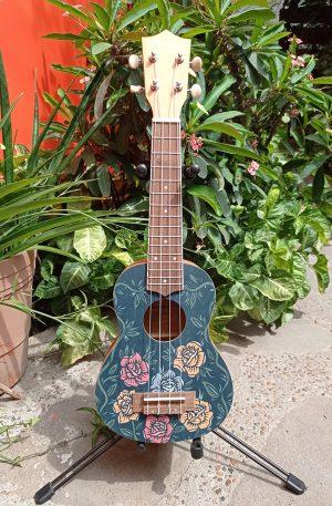 Ukelele Soprano Bamboo Rock & Roll