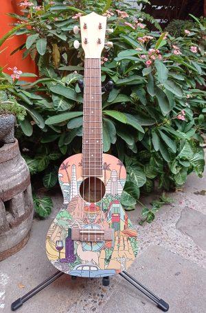 Ukulele Concierto Bamboo Latin